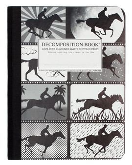Michael Roger Press Decomposition Ruled Notebook Giddyup