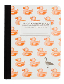 Michael Roger Press Decomposition Ruled Notebook Duck Duck Goose