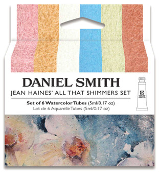 Daniel Smith Jean Haines All That Shimmers Set of 6 Tubes