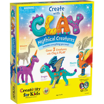 Faber-Castell Creativity for Kids Create with Clay Mythical Creatures
