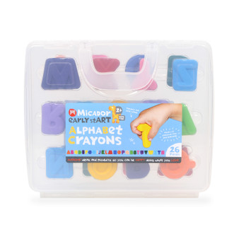 Micador early stART Alphabet Crayon Set