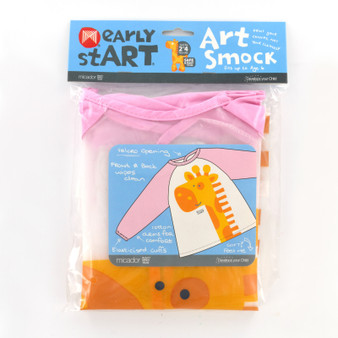Micador early stART Art Smock Pink