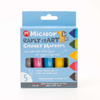 Micador early stART Chunky Markers 5-Color Set