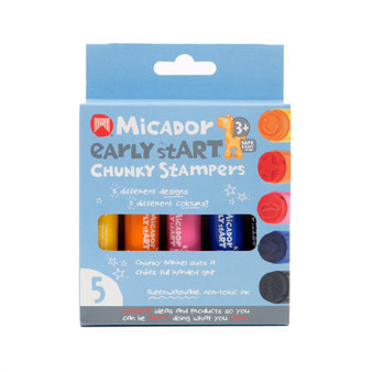 Micador early stART Chunky Stampers 5-Stamp Set