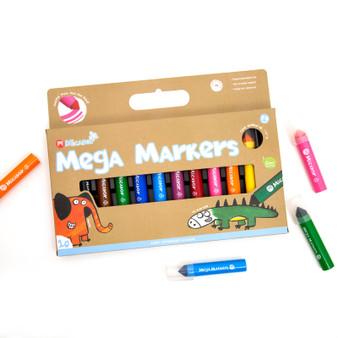 Micador jR. Mega Markers 10-Color Pack