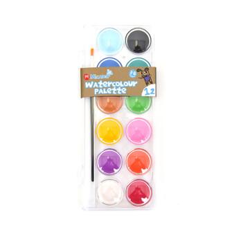 Micador jR. 12-Color Watercolour Palette