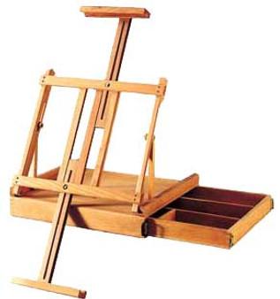 Art Alternatives Ravenna Sketch Box Table Easel