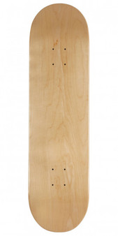 "Blank 7-Ply Maple Skateboard Deck 8.25""-1"