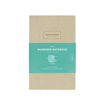 Kokuyo Numbered Notebook