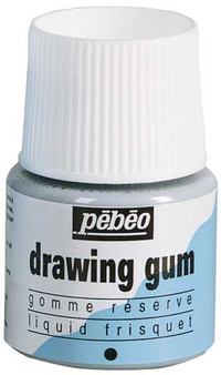 Pebeo Drawing Gum Frisket 45ml jar