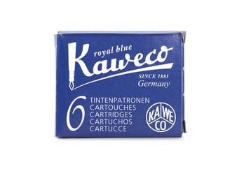 Kaweco Fountain Pen Ink Cartridge Pack of 6 Royal Blue