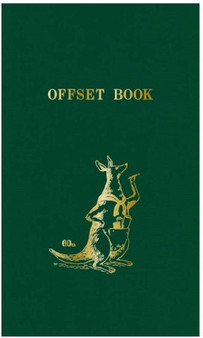 Kokuyo Field Offset Book Green