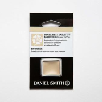 Daniel Smith Watercolor 1/2 Pan Buff Titanium
