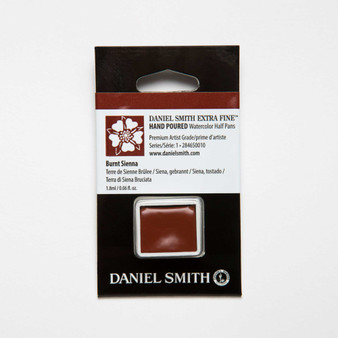 Daniel Smith Watercolor 1/2 Pan Burnt Sienna