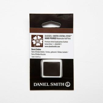 Daniel Smith Watercolor 1/2 Pan Burnt Umber