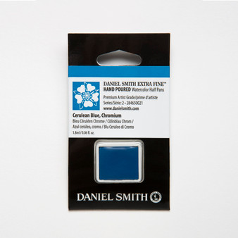 Daniel Smith Watercolor 1/2 Pan Cerulean Blue Chromium
