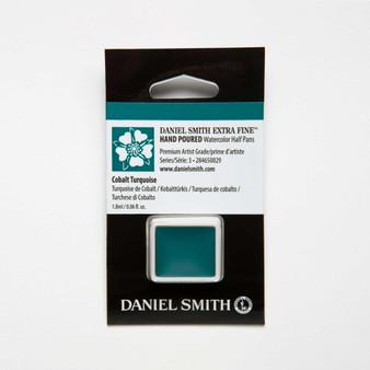 Daniel Smith Watercolor 1/2 Pan Cobalt Turquoise