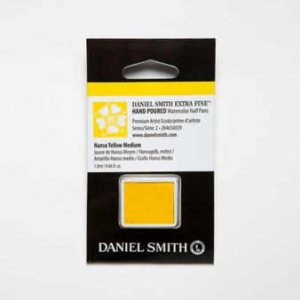 Daniel Smith Watercolor 1/2 Pan Hansa Yellow Medium