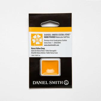 Daniel Smith Watercolor 1/2 Pan Hansa Yellow Deep