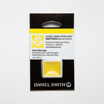 Daniel Smith Watercolor 1/2 Pan Hansa Yellow Light