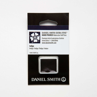Daniel Smith Watercolor 1/2 Pan Indigo