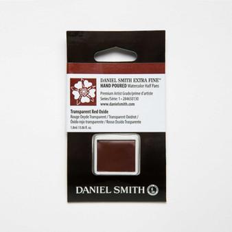 Daniel Smith Watercolor 1/2 Pan Transparent Red Oxide