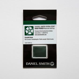 Daniel Smith Watercolor 1/2 Pan Cascade Green