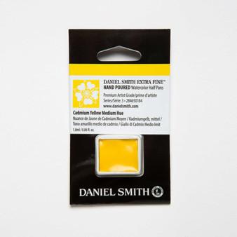 Daniel Smith Watercolor 1/2 Pan Cadmium Yellow Medium Hue