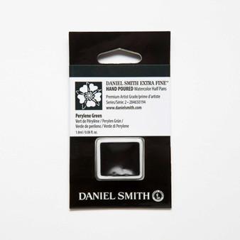 Daniel Smith Watercolor 1/2 Pan Perylene Green