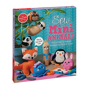 Klutz Sew Mini Animals Kit