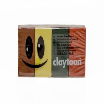 Van Aiken Claytoon Modeling Clay Set Camouflage