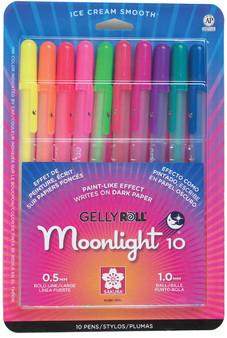 Sakura Gelly Roll Moonlight Pen Set of 10