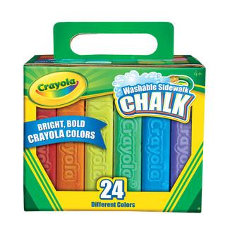 Crayola Sidewalk Chalk Set of 24 Washable Colors