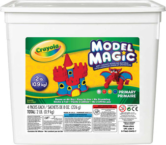 Crayola Model Magic 2lbs. Tub of Assorted Primary Colors