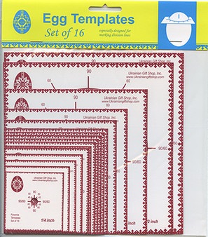 Ukrainian Gift Shop Decorating Templates 16 Piece Pack