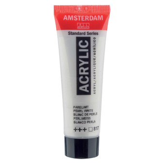 Amsterdam Acrylic 20ml Tube Pearl White