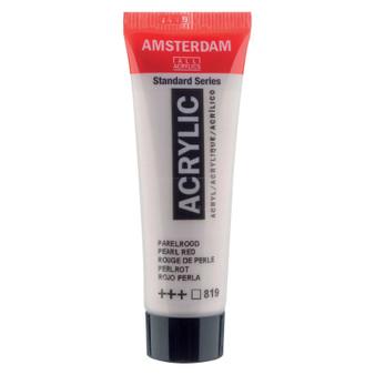 Amsterdam Acrylic 20ml Tube Pearl Red