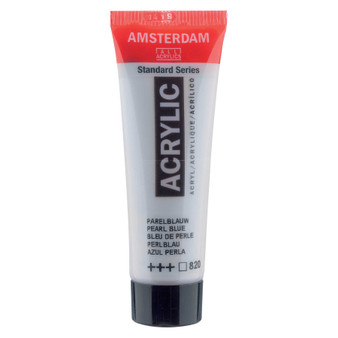 Amsterdam Acrylic 20ml Tube Pearl Blue