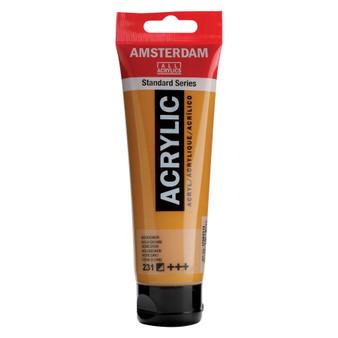 Amsterdam Acrylic 120ml Tube Gold Ochre