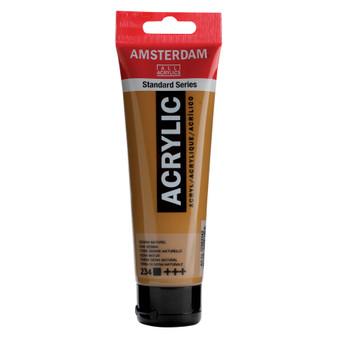 Amsterdam Acrylic 120ml Tube Raw Sienna