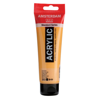 Amsterdam Acrylic 120ml Tube Gold Yellow