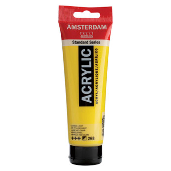 Amsterdam Acrylic 120ml Tube Azo Yellow Light