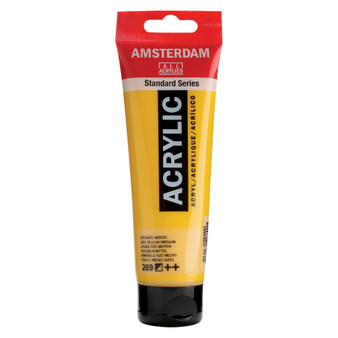 Amsterdam Acrylic 120ml Tube Azo Yellow Medium
