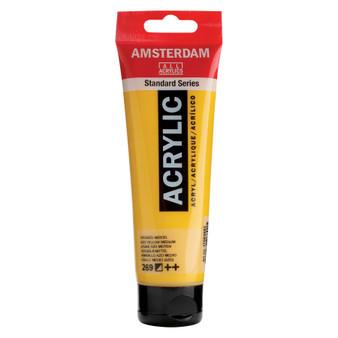 Amsterdam Acrylic 120ml Tube Azo Yellow Medium