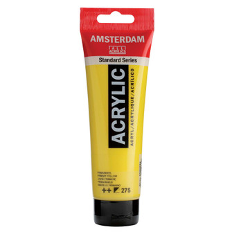 Amsterdam Acrylic 120ml Tube Primary Yellow