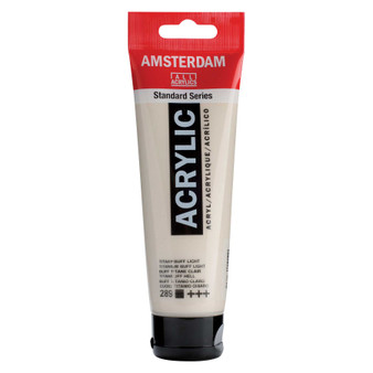 Amsterdam Acrylic 120ml Tube Titanium Buff Light