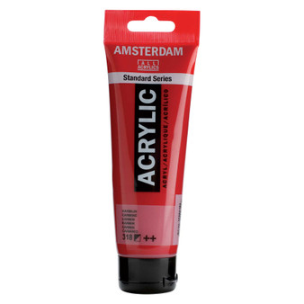 Amsterdam Acrylic 120ml Tube Carmine
