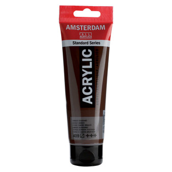Amsterdam Acrylic 120ml Tube Burnt Umber