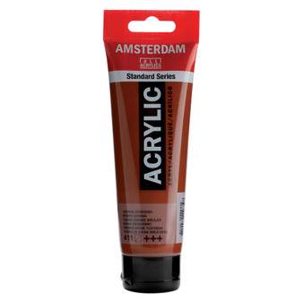 Amsterdam Acrylic 120ml Tube Burnt Sienna