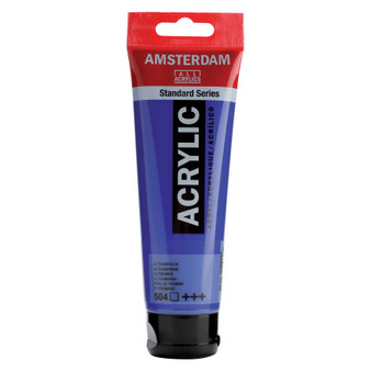 Amsterdam Acrylic 120ml Tube Ultramarine
